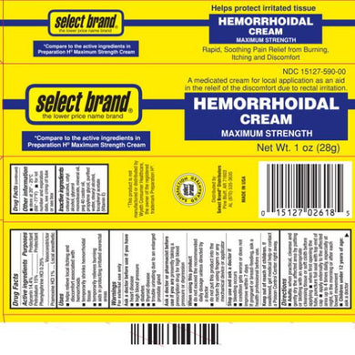 Hemorrhoid Cream Maximum Strength Relief Hemorrhoid Cream Mountainside-Healthcare.com Hemorrhoid Cream, Select Brand