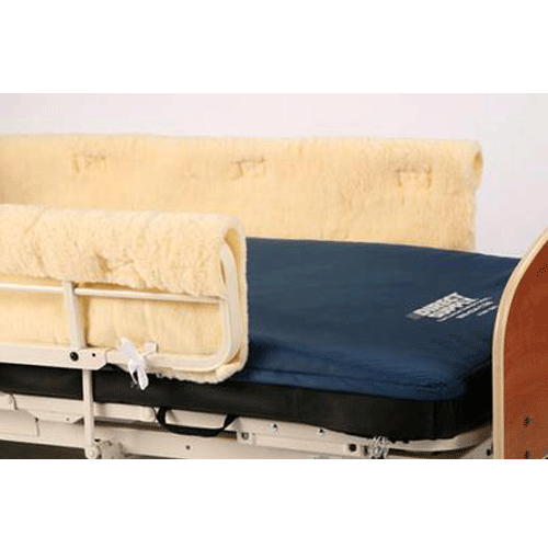 Buy Protective Sheepskin Protective Bedrail Pads, Pair online used to treat Hospital Beds - Medical Conditions