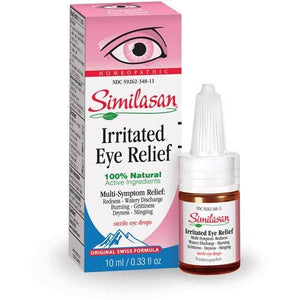 Similasan Pink Eye Relief Eye Drops 10 mL Eye Products Mountainside-Healthcare.com
