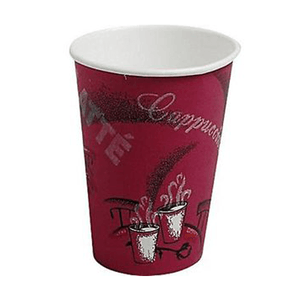 Buy Solo Bistro Paper Hot Cups 16 oz Cafe Design 300/Case online used to treat Hot Cups - Medical Conditions