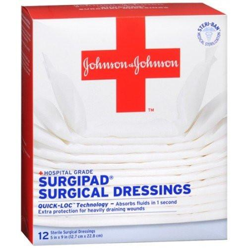 Surgipad Surgical Gauze Dressing Pads Gauze Pads Mountainside-Healthcare.com