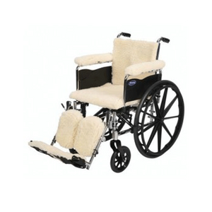 Buy Synthetic Lambswool Wheelchair Protective Covers online used to treat Wheelchair Cushions - Medical Conditions