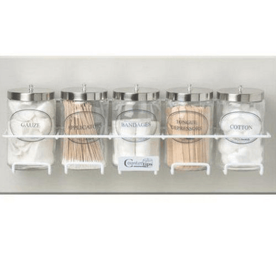 Sundry Jar Rack with Mounting Hardware Physicians Supplies Mountainside-Healthcare.com