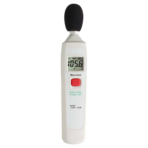 Buy Precision Sound Level Measuring Meter with Wind Protection online used to treat Thermometers - Medical Conditions