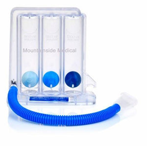TriFlo II Inspiratory Respiratory Therapy Breathing Exerciser Incentive Spirometers Mountainside-Healthcare.com Breathing Exerciser, Incentive spirometer, Respiratory therapy