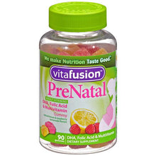 Buy Vitafusion Prenatal Gummy Multivitamins with DHA, Folic Acid online used to treat Prenatal Multivitamin - Medical Conditions