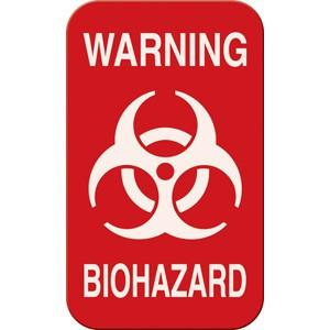Buy Warning Biohazard Magnetic Sign 3 x 5 online used to treat Isolation Supplies - Medical Conditions