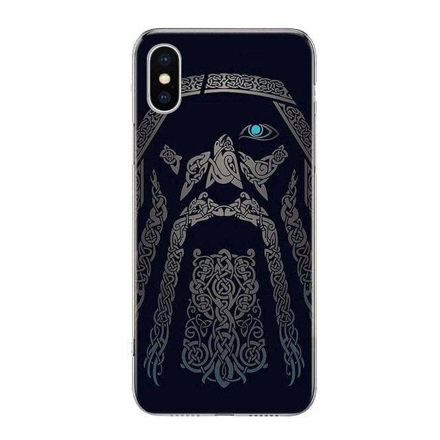 Coque Viking<br>Odin<Br>