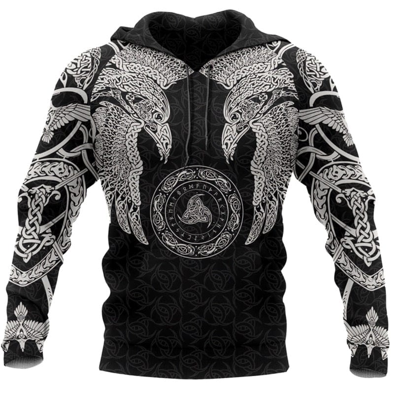 Sweat-shirt Viking<br>Hugin & Munin</br>