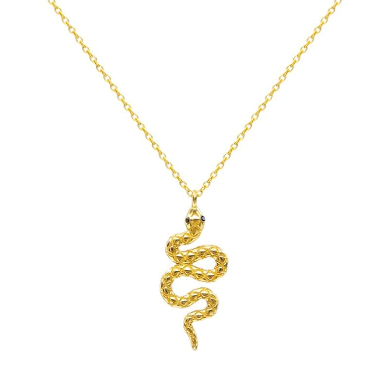 Collier Maille Serpent Or Jaune
