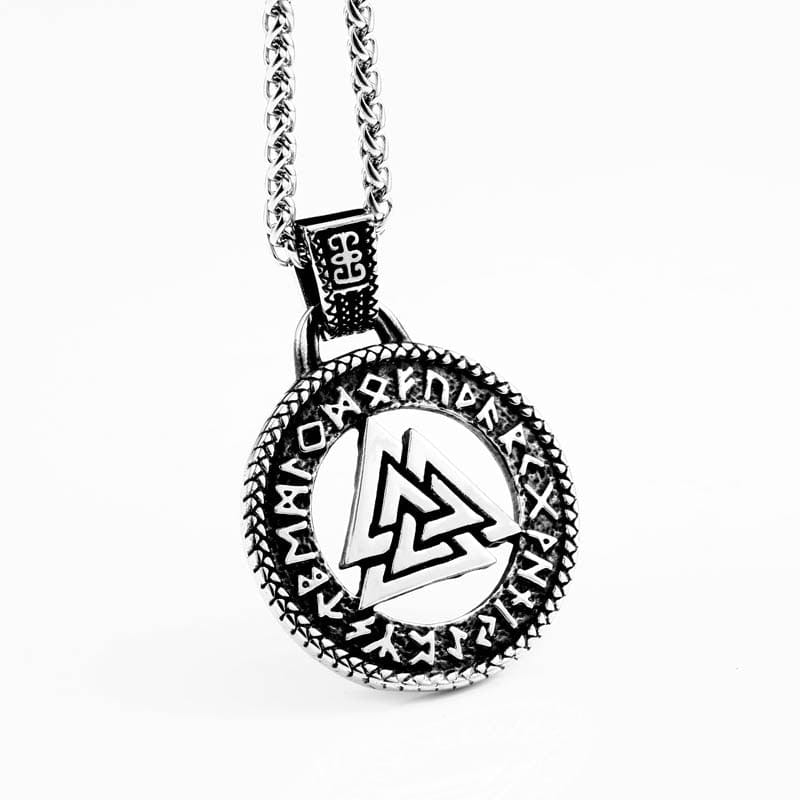 Collier Viking<br>Valknut</br>
