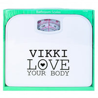 Personalised Love Your Body Scales