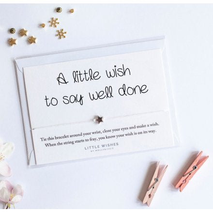 Little Well Done wish Bracelet