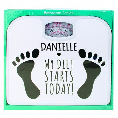 Diet Starts Today Personalised Scales