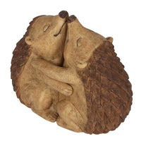 Hedgehog Hug Couple Ornament