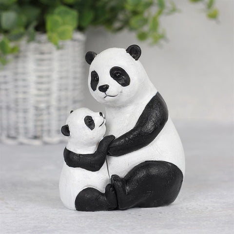 Mother and Baby Panda Ornament