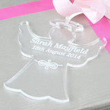 Personalised Acrylic Angel Decoration