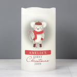 Personalised '1st Christmas' Mouse Nightlight LED Candle