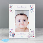 Personalised Tiny Tatty Teddy Unicorn 6x4 Frame