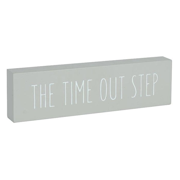 TIME OUT Step Word Block