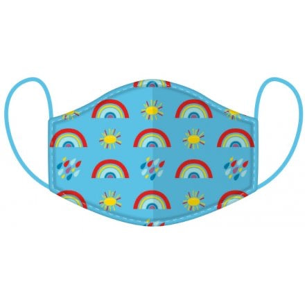 Washable Face Mask Ages (Kids 4-12 years) - Rainbow