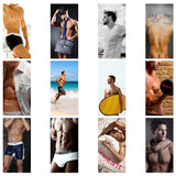Personalised Hot Hunks Desk Calendar
