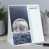 Personalised Outdoors Desk Calendar