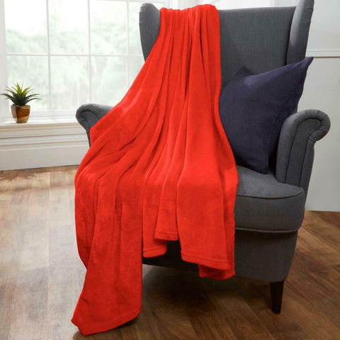 Supersoft Throw - Coral