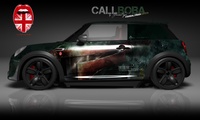 STAR WARS Art Vollverklebung Carwrapping