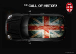 """The Call of History"" Mini Design Folie Dach"