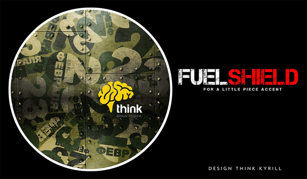 Tankdeckel Wrapping Design Think Kyrill