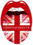 London Junkies Logo Sticker, Aufkleber