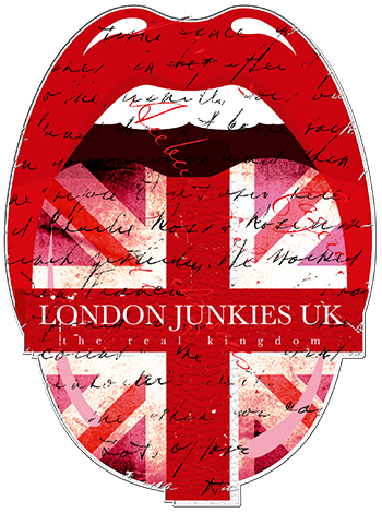 London Junkies Logo Sticker, Aufkleber, 3D Doming