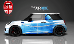 "Mini Car Wrapping Design ""The Air Ride"""