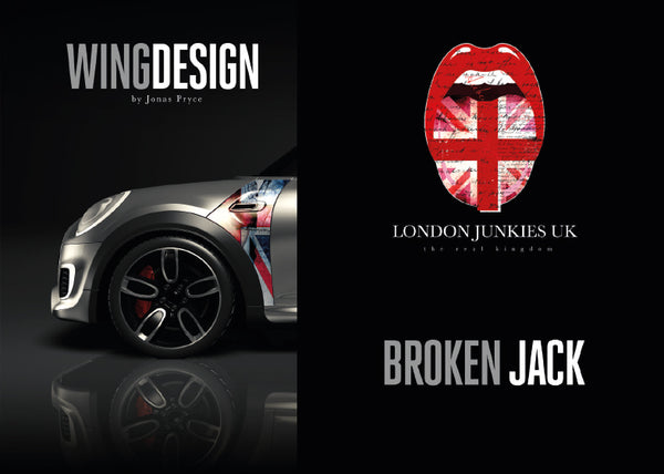 """Broken Jack"" Mini Design Folie Wing"