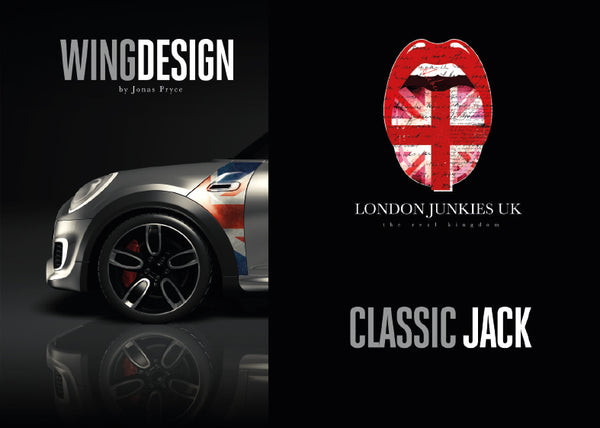 """Classic Jack"" Mini Design Folie Wing"