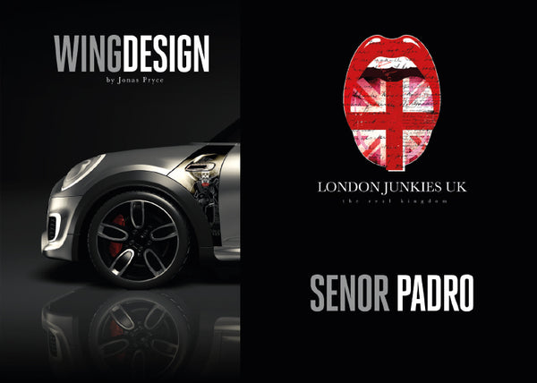"""Senor Padro"" Mini Design Folie Wing"