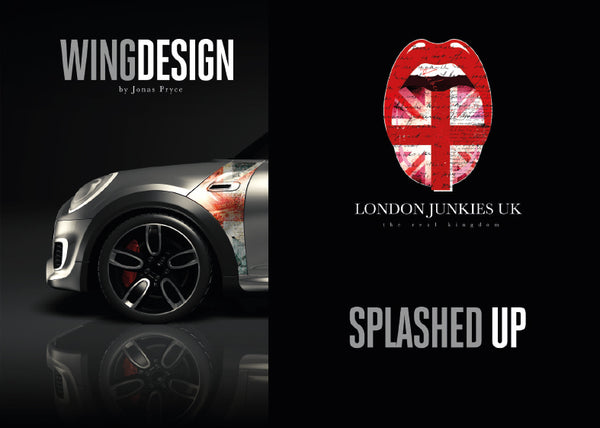 """Splashed Up"" Mini Design Folie Wing"