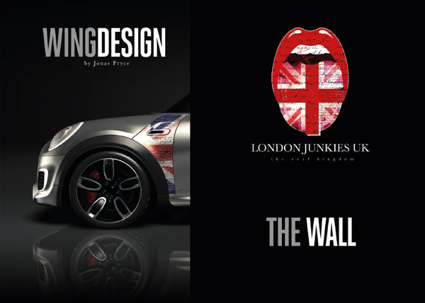 """The Wall"" Mini Design Folie Wing"