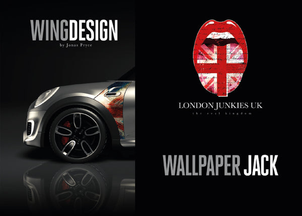 """Wallpaper Jack"" Mini Design Folie Wing"