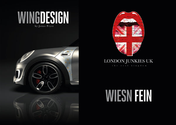 """Wiesn Fein"" Mini Design Folie Wing"