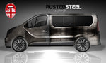 "Opel Vivaro full body wrap Design ""Rusted Steel"""