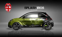 Splash Bros Opel Adam Vollverklebung