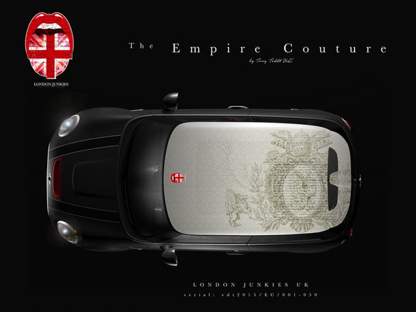 The Empire Couture  Mini Dachfolierung