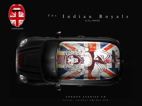 The Indian Royals Mini Dachfolierung