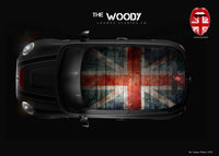 """The Woody"" Mini Design Folie Dach"