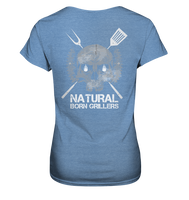 Natural Born Grillers Ladies Organic Shirt (meliert)