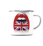 London Junkies Emaille Tasse