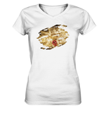 London Junkies Mini Driver Ladies V-Neck Shirt