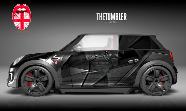 "Mini Car Wrapping Design ""The Tumbler"""